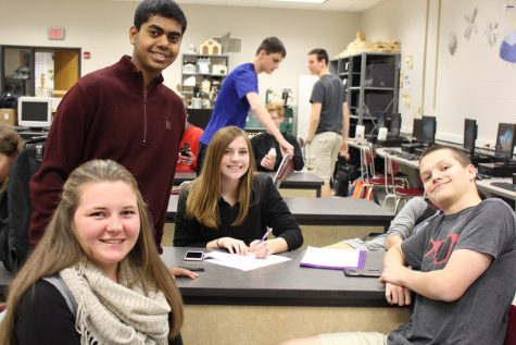 NCHS students share New Year's resolutions
