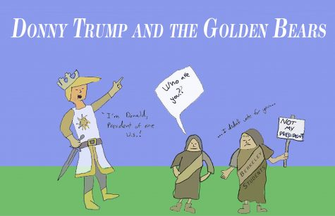 Donny Trump and the Golden Bears