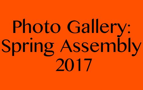 2017 Spring Assembly Photo Gallery