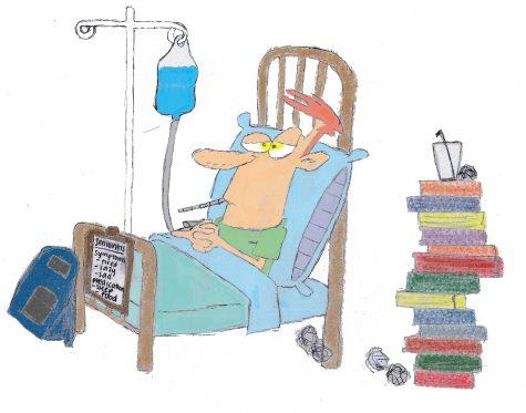 Senioritis symptoms emerging amongst students