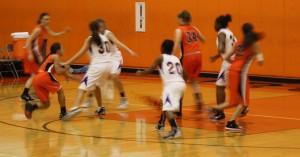Lady Iron Basketball falls short against Central Catholic