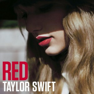 Album cover of Taylor Swift's Red.