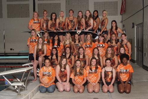 2012 Lady Iron Swimming and Diving
