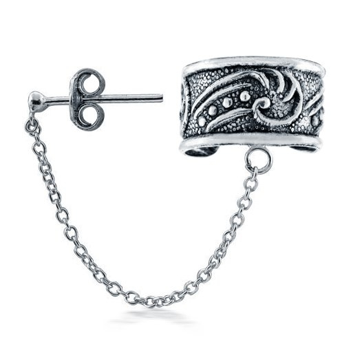 Ear cuffs: more than an earring, less than a piercing