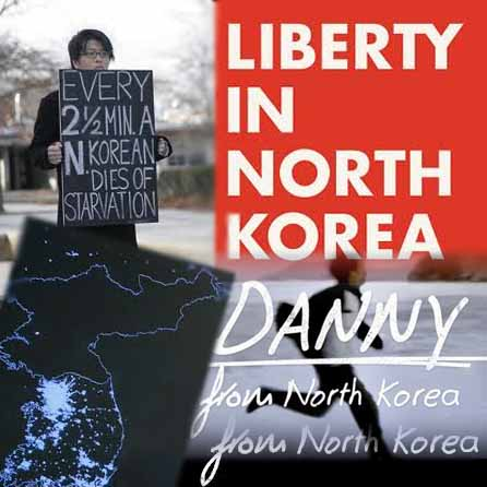 Liberty in North Korea promotion for their new movie.