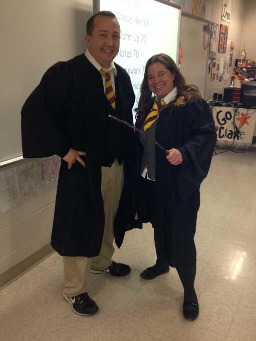 Mr. Froelick, Mrs. Gotschall