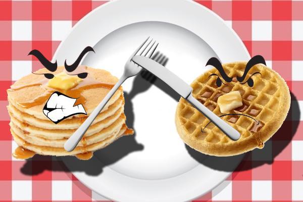 Pancakes vs. Waffles