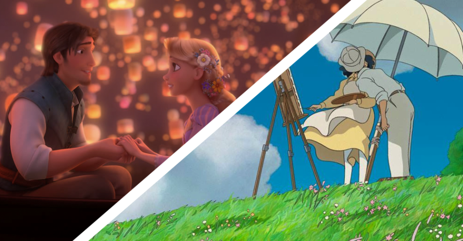[Photos courtesy of Disney &  Studio Ghibli]