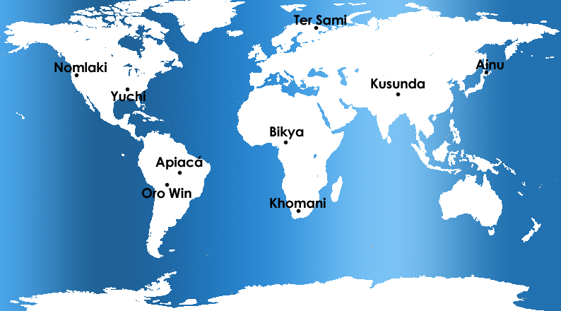 Top 9 endangered languages