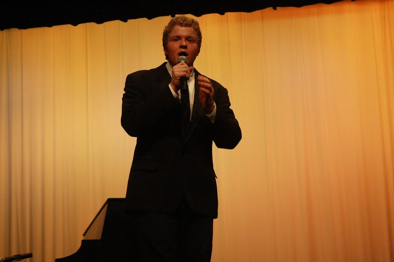 Reid Gramm hosted the event and kept things light, cracking jokes, and welcoming performers.