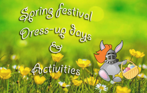 Spring festival dress-up days, activities