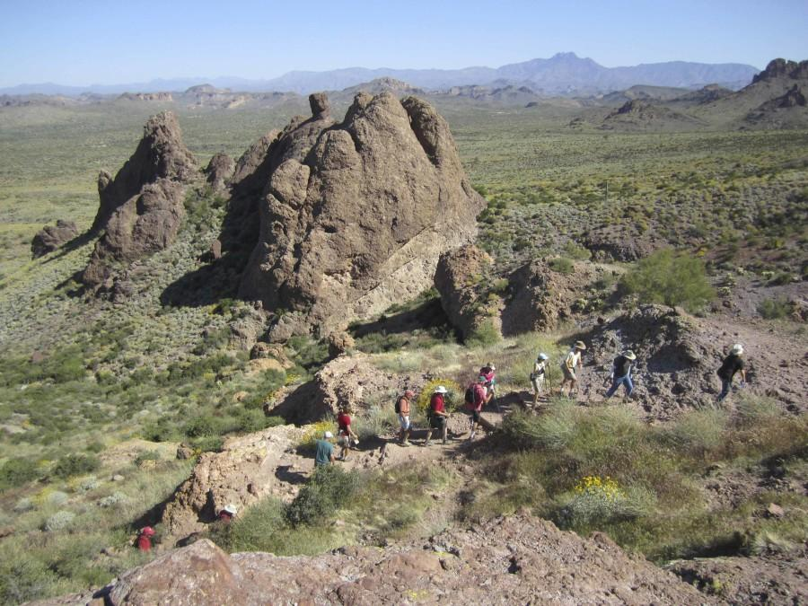 Private hiking tours are offered throughout Arizona