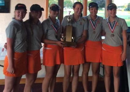 Girls golf takes Intercity Championship