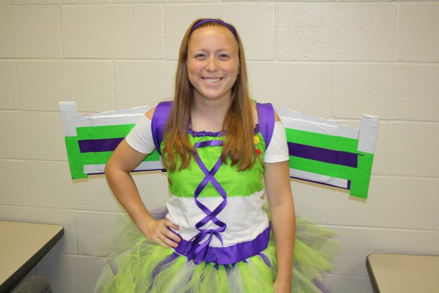 NCHS junior as Buzz Lightyear