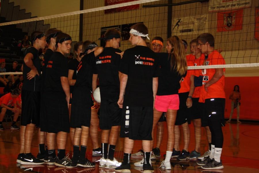 The Swat Team (9) and Iron Aces (11) discussing.