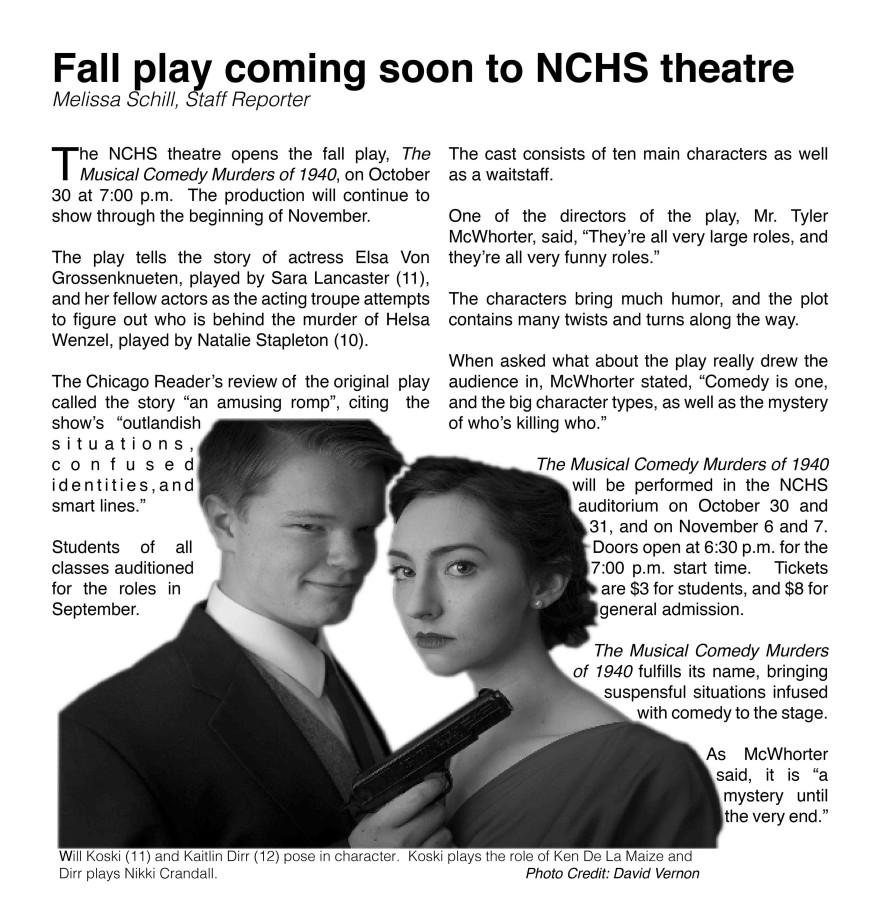 Fall Play Article Melissa