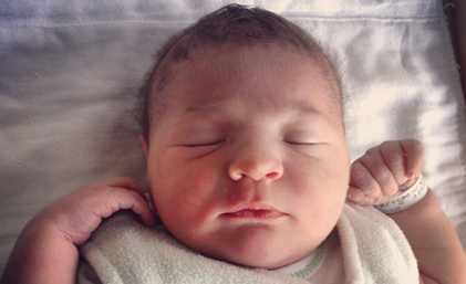 Krog-more: Couple welcomes second child