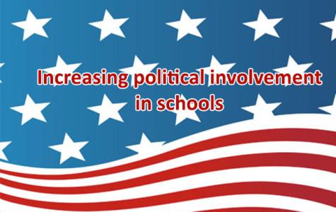 Increasing political involvement in schools