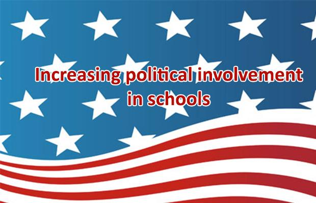 Increasing political involvement in schools