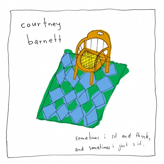 Courtney Barnett - 'Sometimes I Sit and Think, and Sometimes I Just Sit' album cover shot