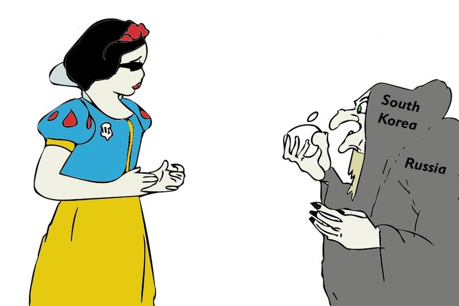 Editorial Cartoon: Dangerous Apple?