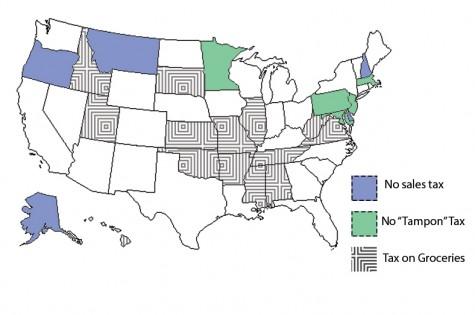 Sales tax map