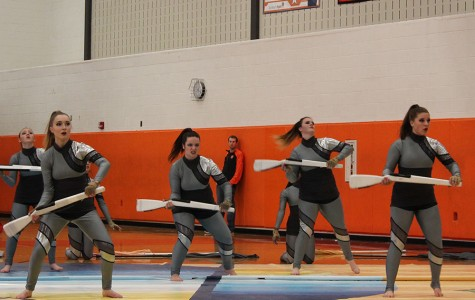 "Winter Guard performs ""Maximum Sentence"""
