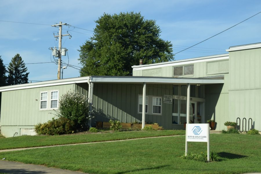 The Boys and Girls Club is located just a few blocks away from the Active Garden.