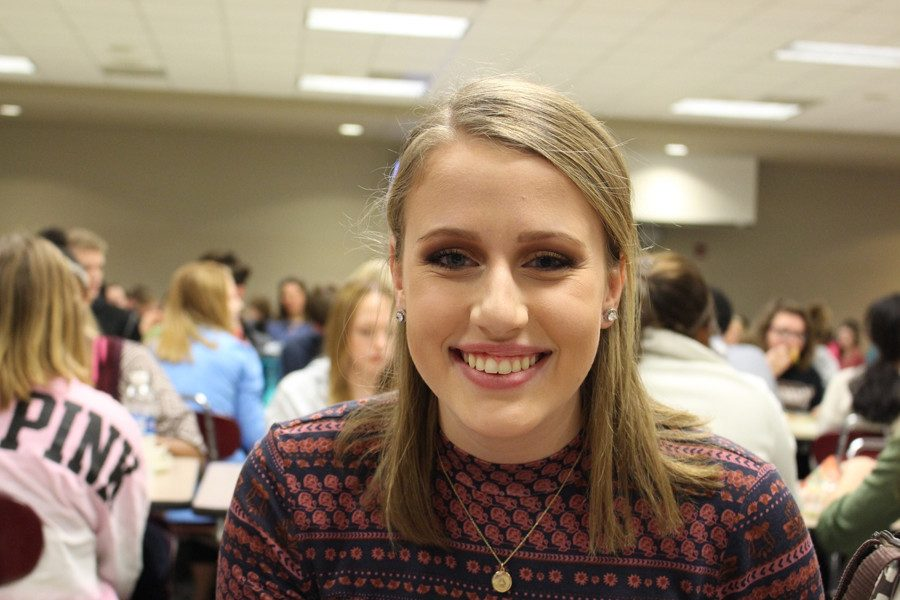 Addie Smith's (10) goal for 2017 is to make new friends because she wants to branch out more.