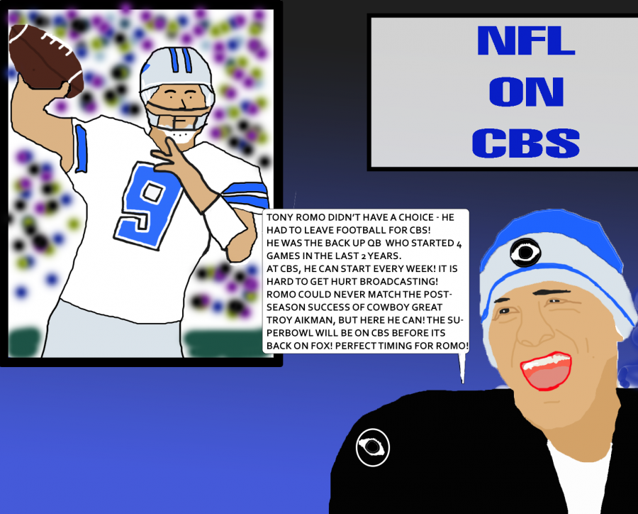Opinion: Romo plays in postseason - for CBS