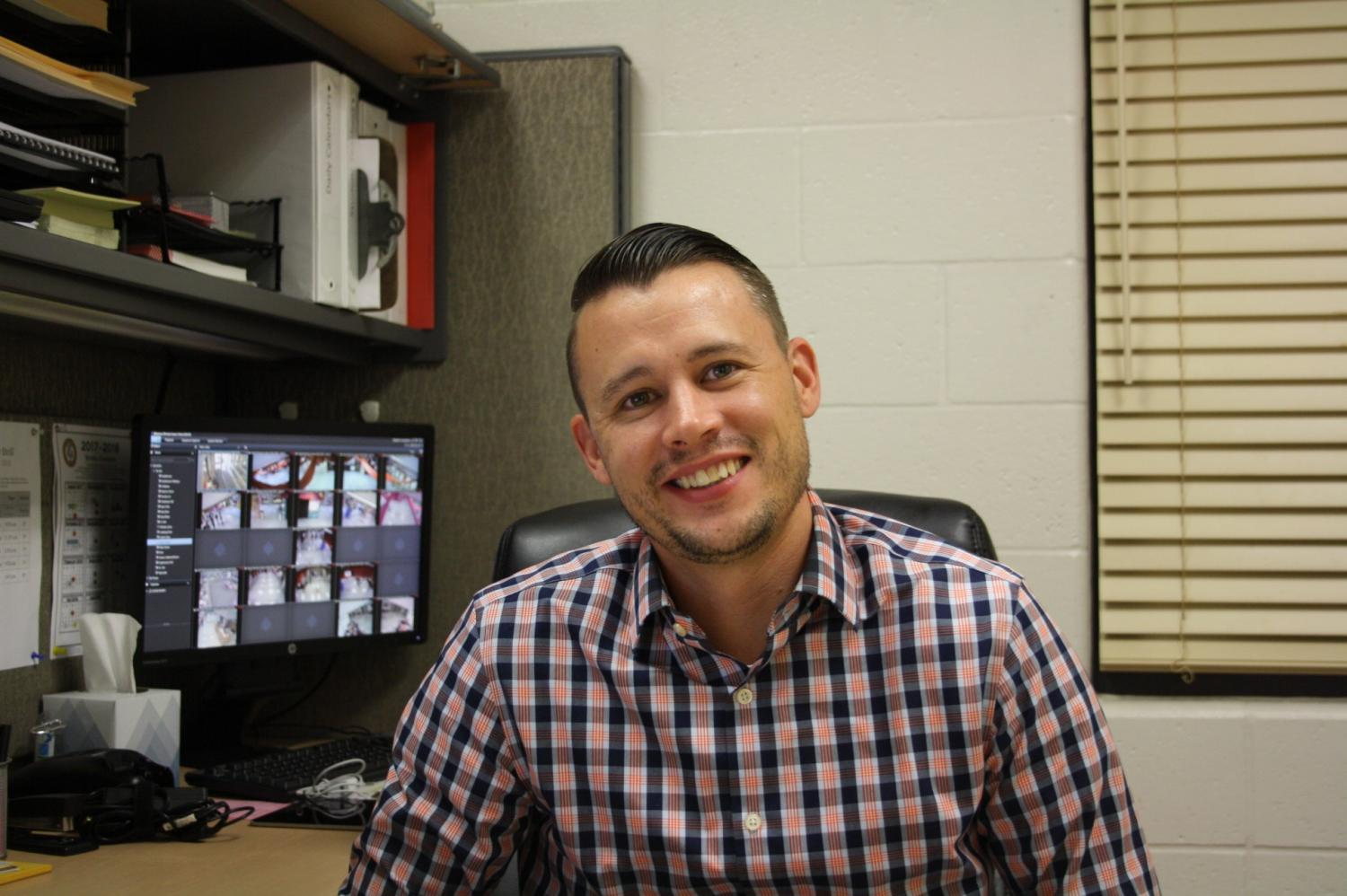Mr. Josh Fabish took a job in Florida after 13 years of employment, first as a math teacher, then as an assistant principal. His last day was October 6.