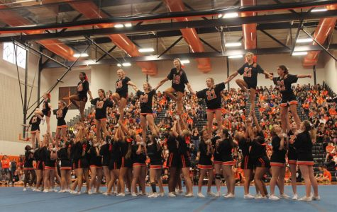 Photo Gallery: Cheer team performs at Homecoming assembly