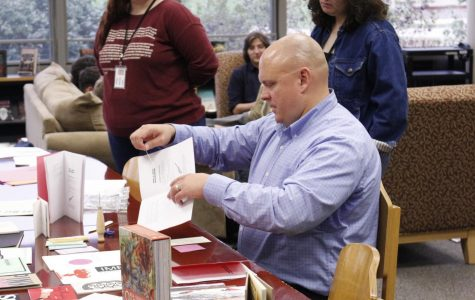 Spot the difference: Chapbooks Lunch and Learn