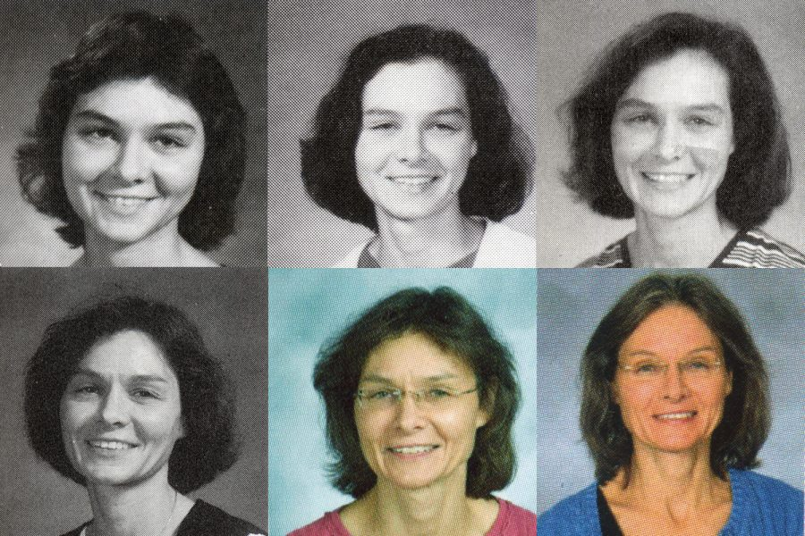 Ms. Jeanne Urbance will retire at the end of the 2017-2018 school year. Take a look at Urbance through the years (and through yearbook photos). Clockwise from upper left: 1984; 1993; 1999: 2000; 2009; 2017.