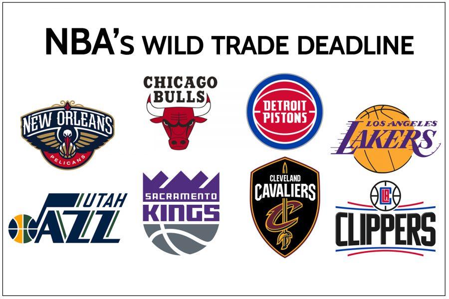 NBAs wild trade deadline