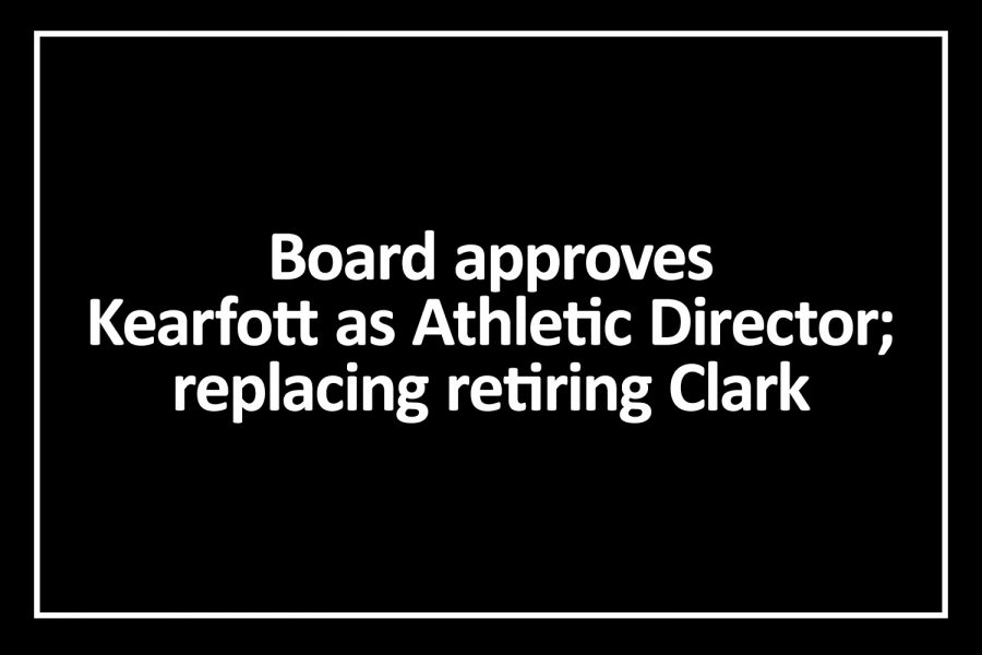 Board appoints new Athletic Director