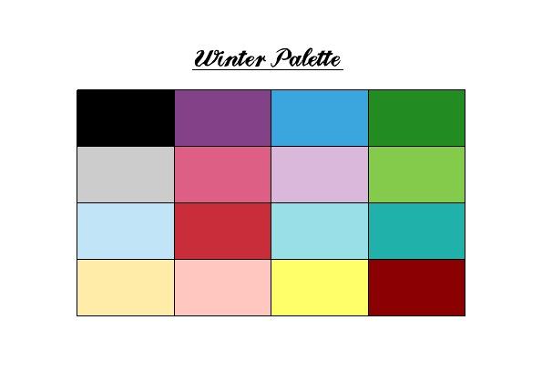 winter+pallette