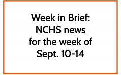 News in Brief: NCHS news for week of Sept. 10-14