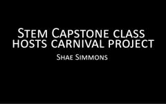 Video: Stem Capstone hosts carnival