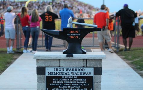 Memorial honors former student killed in action