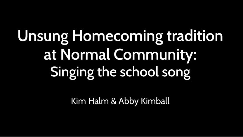 Unsung Homecoming tradition