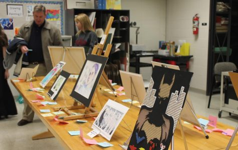 Photo Gallery: Student artwork displayed at art showcase
