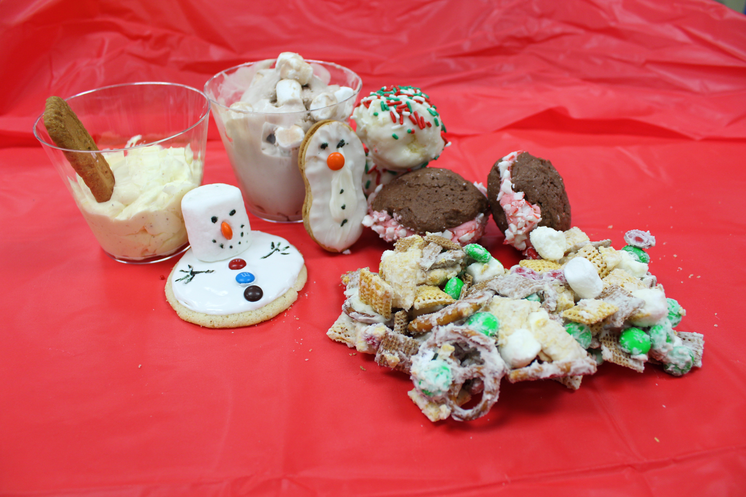 The Inkspot staff tested out some easy winter desserts. Here are the step-by-step recipes for our favorites.