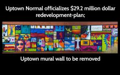 Uptown Normal officializes $29.2 million dollar redevelopment-plan; Uptown mural wall to be removed