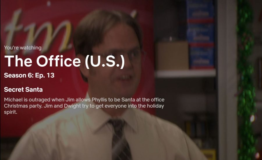 1.+Season+six%2C+%E2%80%9CSecret+Santa%E2%80%9D-++In+this+episode%2C+the+office+throws+a+Christmas+party%2C+and+Michael+is+angry+when+Jim+allows+Phyllis+to+be+Santa%2C+so+he+disgraces+his+coworkers+and+their+gifts+for+one+another.+Meanwhile%2C+Oscar+develops+a+crush+on+a+new+warehouse+worker%2C+and+Andy%27s+secret+Santa+gift+to+Erin+%E2%80%93+the+12+Days+of+Christmas+%E2%80%93+does+not+go+as+well+as+planned.+By+far+the+most+humorous+Office+Christmas+episode+due+to+Michael%E2%80%99s+egocentric+behavior.+