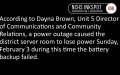 Video: Staff reacts to district-wide internet outage