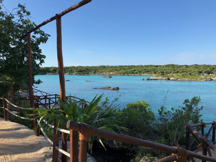 Xel ha overlooks sparkling blue waters, waiting to be explored