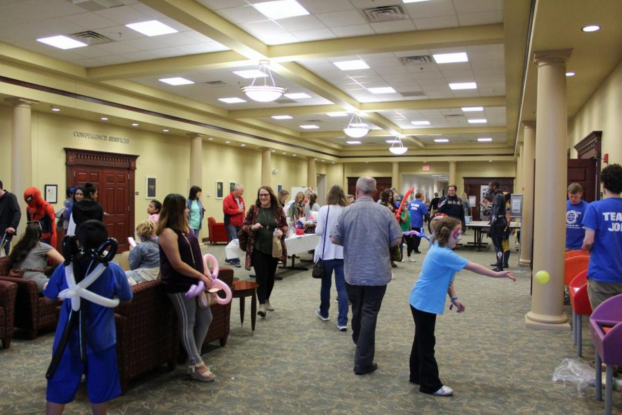 Be a Hero Day, started by The Heroes Embracing Autistic Lives (H.E.A.L) Foundation was held on April 6, 2019 at the Illinois State University Alumni Center.