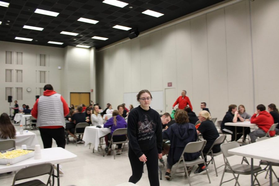 Students were very competitive in trivia and other activities at After-Prom.