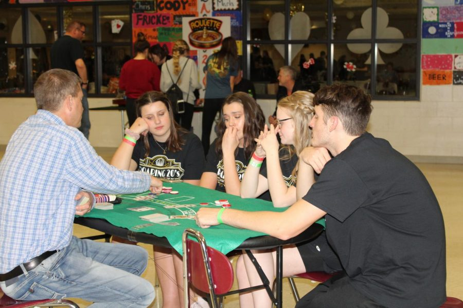 Students were also offered other activities such as trivia.